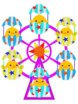 Ferris wheel (no text)