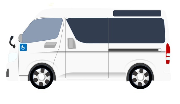 Welfare vehicle (white)
