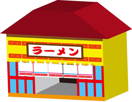 Map material - ramen shop
