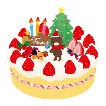 크리스마스 케이크 동물 ver.