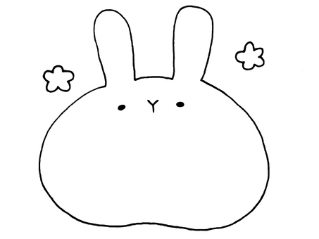 One of the big rabbits 1