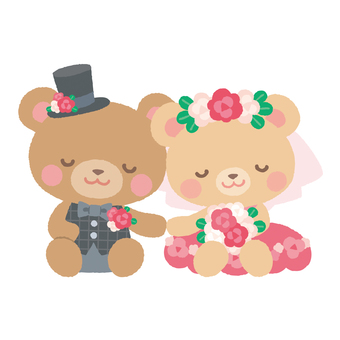 Wedding bear 3
