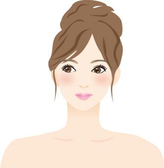 微笑的女人