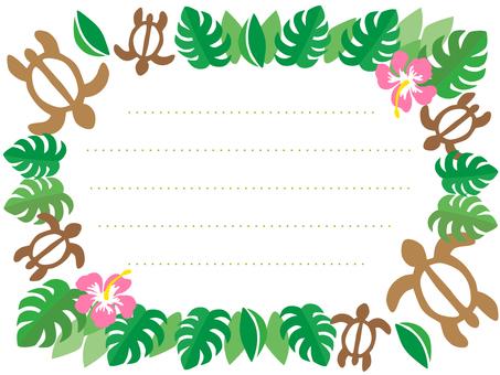 Hawaiian card