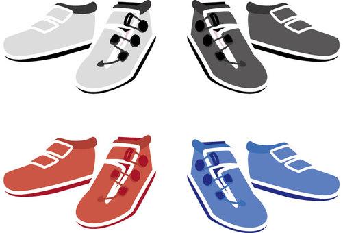 Binding shoes