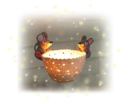 鼠標_蠟燭