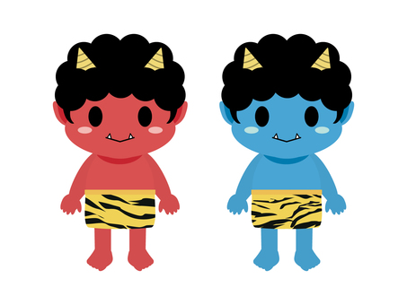 Red Demon and Blue Demon