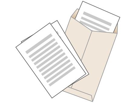 60821. 서류 봉투 밝은 2