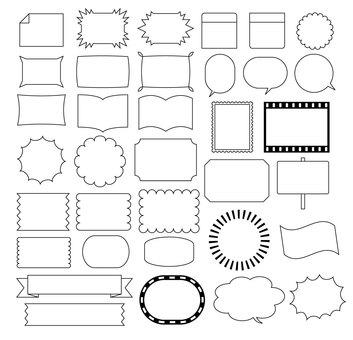 Simple frames various