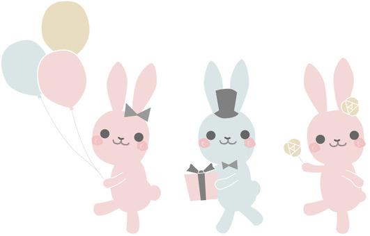 Usagi's party