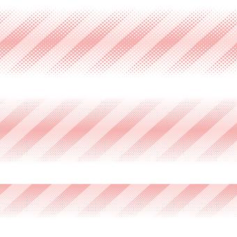 ドットグラデーション8・ピンク