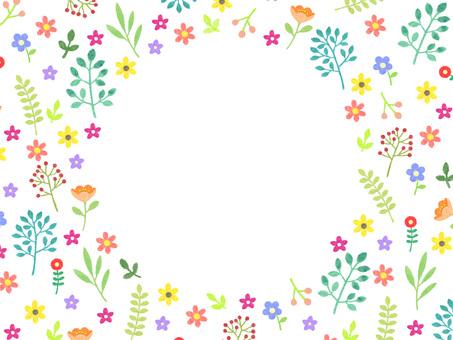 작은 꽃의 프레임 ①