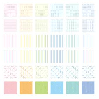 Various patterns 4