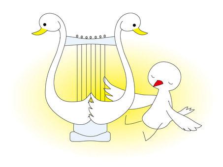 小鳥ハープ