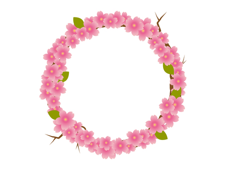 桜 リース01