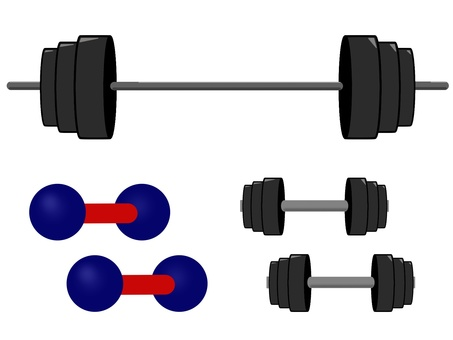 Barbell iron array dumbbell