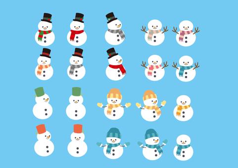 Snowman No.1
