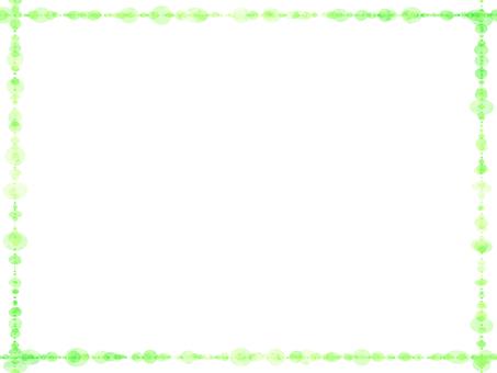 도트 프레임 (녹색)