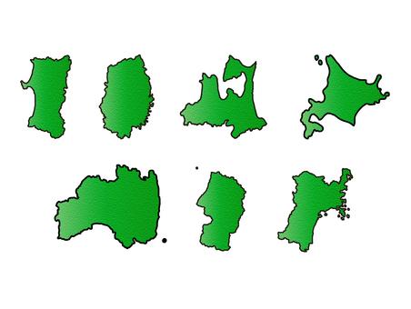 동북 지방 홋카이도 세트