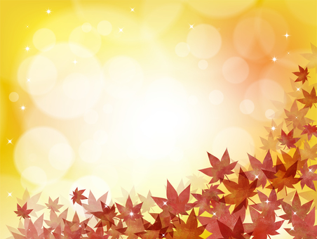 Background autumn maple leaves maple leaves frame