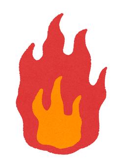 Japanese flame