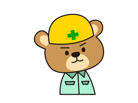 Working clothes bear
