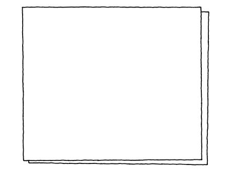 Notepad (double) monochrome