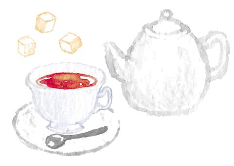 《水彩風》紅茶