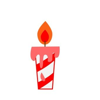 Crimmas candle (2)