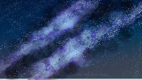 밤하늘의 배경