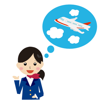 Airplane and tourist information