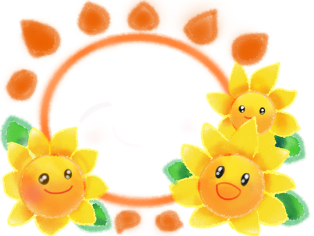 Sunflower and sun 4