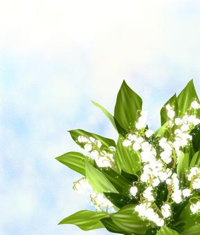 Flower, glitter Suzuran