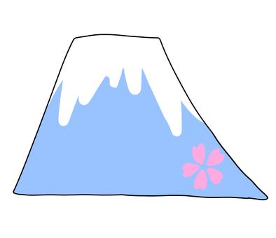 Mount Fuji (cherry blossoms)