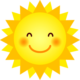 Sun (Expression D, Smile)