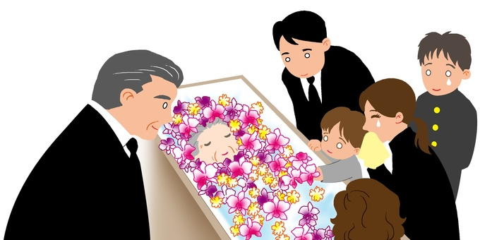 Family funeral