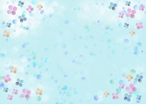 꽃잎과 물방울