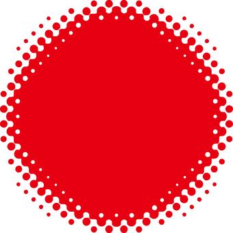 Yen _ blurred_ dot _ red
