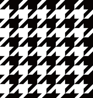 Pattern (hound's tooth check)