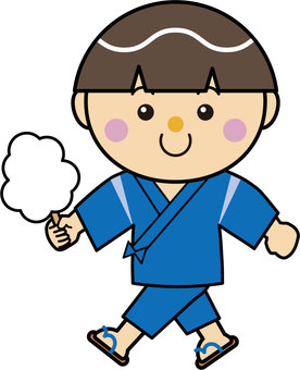 Boy 16_05_01 (Kotohira, cotton candy)