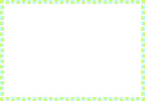 Simple square frame