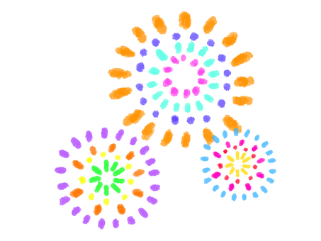 Crayon series [Fireworks]