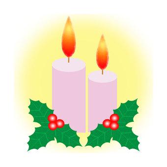 Candle and Hiiragi