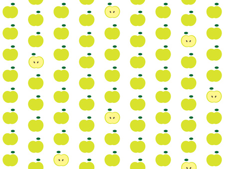Dots with apples (blue)