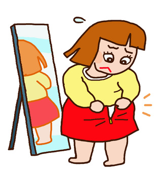 Women who do not have skirts, diet