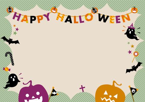 Astringent color Halloween frame_A02