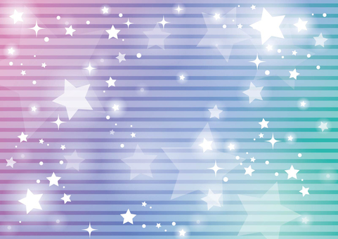 Rainbow color starry sky background 01