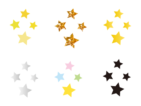 Glittering Star Set 1
