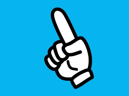 Glove, hand icon 2