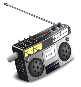 radiocassetrecorder